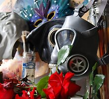 Gas Mask Still Life by Devoid2015