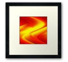 DREAM PATH (Reds, Oranges & Yellows)-(9000 x 9000 px) Framed Print