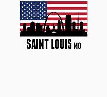 Saint Louis MO American Flag Unisex T-Shirt