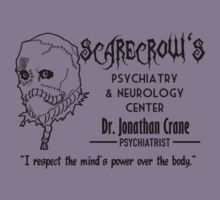 Dr Crane scarecrow's center 2 by Buby87