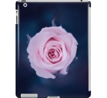 Rose in deep blue iPad Case/Skin