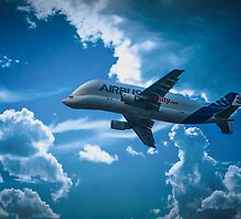 Airbus A300-600ST  over Broughton by outlawalien