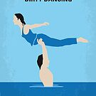 No298 My Dirty Dancing minimal movie poster by Chungkong