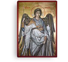 Archangel Michael - Eastern Orthodox icon Canvas Print