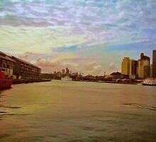 """View from Circular Quay"" (Sydney) by evansoz"