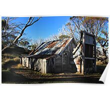 Wallace Hut 1 Poster
