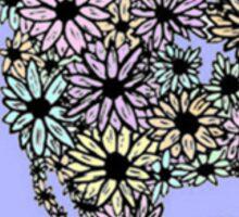 Flower Earth Sticker