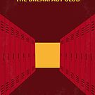 No309 My The Breakfast Club minimal movie poster by Chungkong