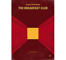 No309 My The Breakfast Club minimal movie poster Photographic Print