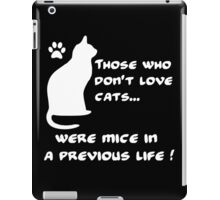 Everyone loves cats (W) iPad Case/Skin