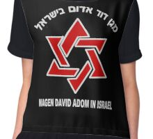Magen David Adom - for Dark Colors Chiffon Top