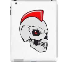 Skull evil punk iPad Case/Skin