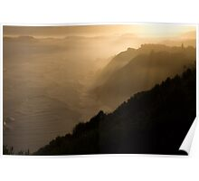 Sunset, Brenton On Sea, South Africa, 2014 Poster