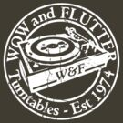 Wow & Flutter Turntables T-Shirt & Bags - Worn Well by Ra12