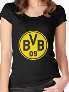 Borussia Dortmund Women's Fitted Scoop T-Shirt