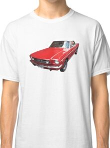 Red Ford Mustang Convertible Classic T-Shirt