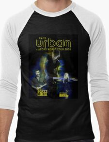 Keith Urban Rip Cord World Tour 2016 Men's Baseball ¾ T-Shirt