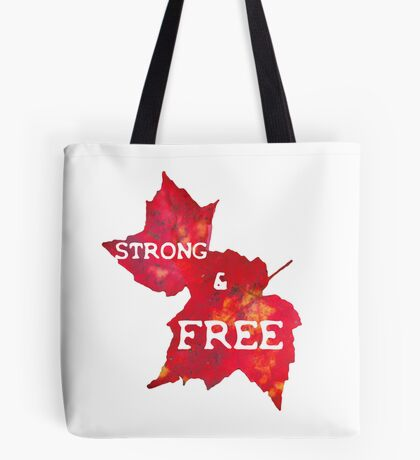 Strong & Free Tote Bag