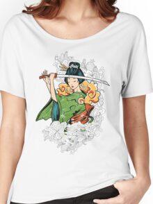 Geisha Samurai Women's Relaxed Fit T-Shirt