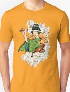 Geisha Samurai Unisex T-Shirt