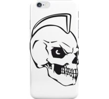 Skull evil punk iPhone Case/Skin