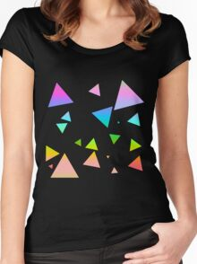 Tri-Bow Women's Fitted Scoop T-Shirt