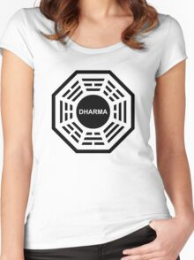 Dharma Women's Fitted Scoop T-Shirt
