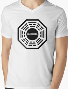 Dharma Mens V-Neck T-Shirt