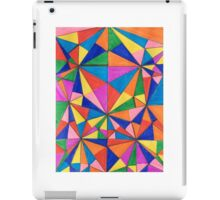 Crazy Triangles iPad Case/Skin