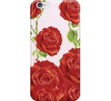 Rose's Are Red.... iPhone Case/Skin