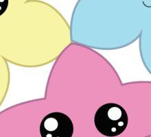 3 Kawaii Stars Sticker