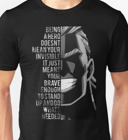 My Hero, All Might Unisex T-Shirt