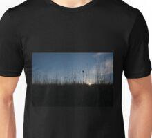 Sun through tall grass Unisex T-Shirt