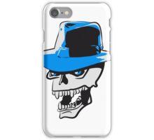 Skull evil hat iPhone Case/Skin