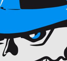 Skull evil hat Sticker