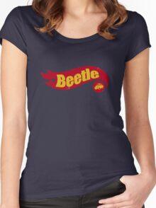 Beetle hot wheels Women's Fitted Scoop T-Shirt