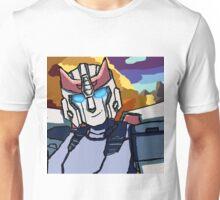 Blue streaks of silver Unisex T-Shirt