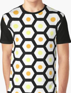 honeycomb with drop of honey Graphic T-Shirt