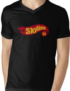 Skyline hot wheels Mens V-Neck T-Shirt