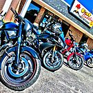 Lined up at Fat Buddies by GWGantt