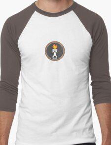 Piston Pattern  Men's Baseball ¾ T-Shirt