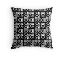 Piston Pattern  Throw Pillow