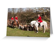 Suffolk hunt #4 Greeting Card