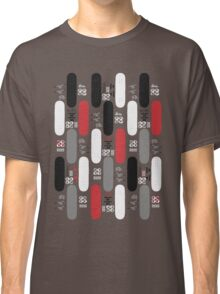 Skateboard Assembly Pattern (GRB) Classic T-Shirt