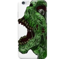 Zombie Simile  iPhone Case/Skin
