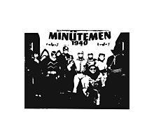 Minutemen Photographic Print