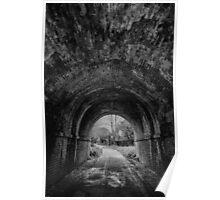 Railway Tunnel Poster