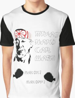 Miyagi's hand wax Graphic T-Shirt