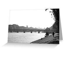 Promenade Rive Gauche Greeting Card