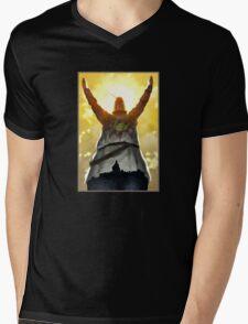 Sun Praising Mens V-Neck T-Shirt